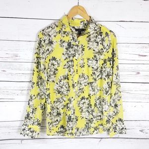 J. Crew silk and cotton blend top size 8